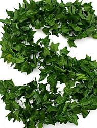 Недорогие -искусственный цветок нерегулярный 1 ветвь номер зеленый с полиэстером для украшения дома офисной стены вечный настольный цветок классический восточный современный современный стиль