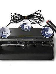 Недорогие -12v 16 светодиодный янтарный проблесковый маячок аварийного освещения
