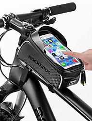 Недорогие -ROCKBROS Сотовый телефон сумка Бардачок на раму 6 дюймовый Сенсорный экран Отражение Водонепроницаемость Велоспорт для Все Сотовый телефон iPhone X iPhone XR Черный / iPhone XS / iPhone XS Max