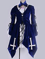 ieftine -Inspirat de RozenMaiden Cosplay Anime Costume Cosplay Costume Cosplay Contemporan Cravată / Rochie / Mai multe accesorii Pentru Bărbați / Pentru femei