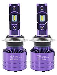 Недорогие -SO.K 2pcs 9007 / H7 / H4 Автомобиль Лампы 25 W СНТ 8000 lm 2 Светодиодная лампа Противотуманные фары / Налобный фонарь Назначение Все года
