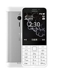 """Недорогие -NOKIA 230ds 2.8 дюймовый """" Сотовый телефон (+ 2 mp Прочее 1200 mAh mAh)"""