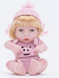 baratos -Bonecas Reborn Bebês Meninas 12 polegada Silicone Vinil - realista Confeccionada à Mão Fofo Segura Para Crianças Crianças / Adolescente Non Toxic de Criança Unisexo Brinquedos Dom