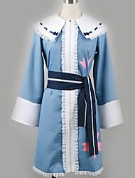 baratos -Inspirado por Projecto de Touhou Fantasias Anime Fantasias de Cosplay Ternos de Cosplay Padrão Cinto / Mais Acessórios / Ocasiões Especiais Para Homens / Mulheres