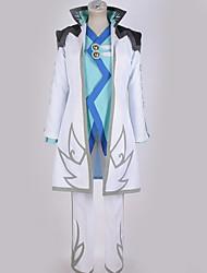 baratos -Inspirado por Fantasias Fantasias Anime Fantasias de Cosplay Ternos de Cosplay Design Especial Casaco / Blusa / Calças Para Homens / Mulheres