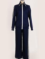 baratos -Inspirado por Touken Ranbu Fantasias Anime Fantasias de Cosplay Ternos de Cosplay Sólido Blusa / Calças / Ocasiões Especiais Para Homens / Mulheres