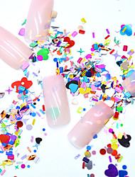 voordelige -Nagelsieraden Kristal / Ministijl / Comfortabel Passend Totem Series Sieraden Series Romantische serie Nagel kunst Manicure pedicure Aluminiumfolie modieus / Romantisch Kerstmis / Speciale
