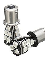 Недорогие -2 шт. Canbus без ошибок 581 bau15s 1156 включите фонарь заднего хода янтарный 18 smd 5050 led