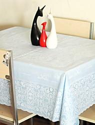 baratos -Moderna PVC Quadrada Toalhas de mesa Estampado Decorações de mesa