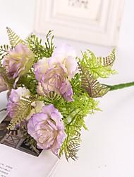 Недорогие -Искусственные Цветы 2 Филиал Классический Свадьба Свадебные цветы Пионы Букеты на стол