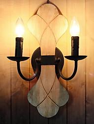 economico -Creativo Tradizionale / Classico Lampade da parete Camera da letto / Al Coperto Metallo Luce a muro 220-240V 40 W
