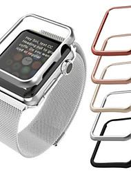 Недорогие -Кейс для Назначение Apple Apple Watch Series 4 Сплав Apple