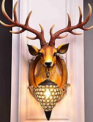 economico -Fantastico Tradizionale / Classico Lampade da parete Al Coperto Resina Luce a muro 220-240V 40 W