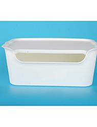 Недорогие -Коробка для хранения пластик Обычные 1 коробка для хранения Сумки для хранения домашних хозяйств