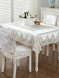 baratos -Moderna Acetato Quadrada Toalhas de mesa Estampado Decorações de mesa