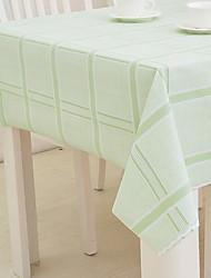 baratos -Moderna PVC Quadrada Toalhas de mesa Listrado Decorações de mesa