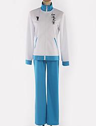 baratos -Inspirado por Haikyuu Fantasias Anime Fantasias de Cosplay Uniformes Escolares Simples / Corujas Casaco / Blusa / Calças Para Homens / Mulheres