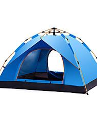Недорогие -DesertFox® 5 человек Автоматический тент На открытом воздухе Легкость С защитой от ветра Дожденепроницаемый Двухслойные зонты Автоматический Палатка >3000 mm для