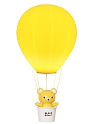povoljno -1pc Balon na vrući zrak LED noćno svjetlo Žuto USB Kreativan <=36 V