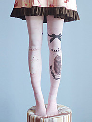 93f1259e260 Cosplay Student   School Uniform Women s Adults  Princess Lolita Tights  Girly Socks   Long Stockings Thigh High Socks Pink Anime Lolita Accessories    High ...