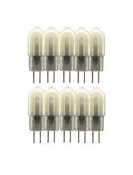 Недорогие -10 шт. 3 W 200-300 lm G4 Двухштырьковые LED лампы T 12 Светодиодные бусины SMD 2835 Милый 220-240 V