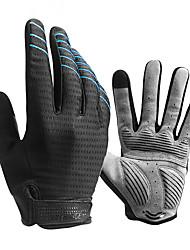 Недорогие -CoolChange Перчатки для велосипедистов Перчатки для горного велосипеда Горные велосипеды Дышащий Противозаносный Впитывает пот и влагу Защитный Спортивные перчатки губка Лайкра Силиконовый гель