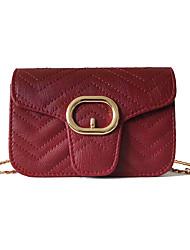 hesapli -Kadın's Çantalar PU Omuz çantası için Günlük / Randevu Beyaz / Siyah / YAKUT