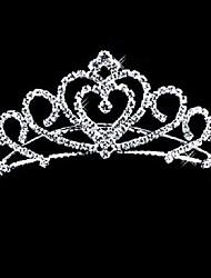 economico -Lega diademi / Pettini per capelli con Crystal / Rhinestone 1 pezzo Matrimonio Copricapo