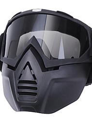 Недорогие -анти туман очки мотоцикл велосипед анфас маска очки нос нос шлем щит