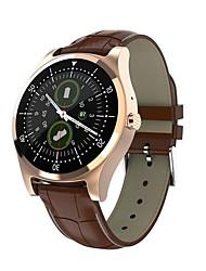 abordables -L18 Reloj elegante Android iOS Bluetooth Smart Deportes Impermeable Pantalla Táctil Podómetro Recordatorio de Llamadas Seguimiento de Actividad Seguimiento del Sueño Recordatorio sedentaria