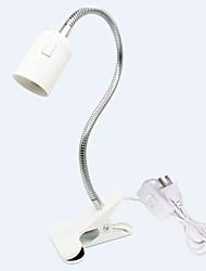 abordables -allume lampe pince lampe pour aquarium tortue lézard habitat reptile ampoule en céramique base e27 à clipser