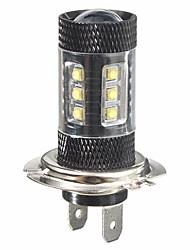 זול -חלק 1 H7 מכונית נורות תאורה 8 W 780 lm 16 LED אורות ערפל / אורות יום / תאורת איתות עבור אוניברסלי / Toyota / Mercedes-Benz כל הדגמים כל השנים