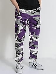 זול -בגדי ריקוד גברים סגנון רחוב צ'ינו מכנסיים להסוות