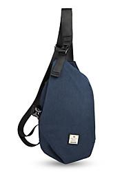 cheap -Men's Bags Oxford Cloth Sling Shoulder Bag Zipper Black / Gray / Coffee
