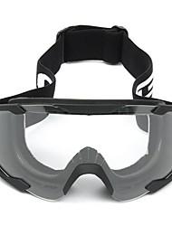 levne -Unisex Motocyklové brýle Sportovní Větruvzdorné / Prodyšné / Odolné vůči prachu Nylonové vlákno / ABS + PC