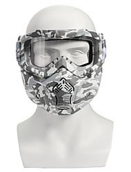 levne -Modulární Dospělí Unisex Moto přilba Anti-Wind / Anti-Dust / Snadné oblékání