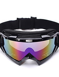 levne -Unisex Motocyklové brýle Sportovní Větruvzdorné / Prodyšné / Odolné vůči prachu Silikon / ABS + PC