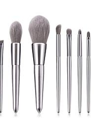 ieftine -Profesional Machiaj perii 8pcs Profesional Model nou Acoperire Integrală sintetic Culoare Gradient Lemn / Bambus pentru Fard de Pleope Creion de Ochi Concealer & Base Aplicatoare de Machiaj Pudre