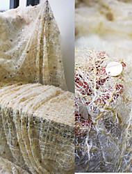 halpa -tylli kiinteä venytys 137 cm leveä kangas mittarin myymiin erityistilaisuuksiin