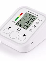 Недорогие -1 шт. Цифровой жк-плечо монитор артериального давления сердца измеритель сердца машина