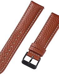 Недорогие -Настоящая кожа / Кожа / Шерсть теленка Ремешок для часов Ремень для Коричневый 20cm / 7.9 дюймы 1cm / 0.39 дюймы / 1.2cm / 0.47 дюймы / 1.3cm / 0.5 дюймы