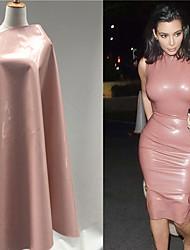 economico -fur-pelle Tinta unita Rivestito 140 cm larghezza tessuto per Abbigliamento e moda venduto di il 0.45m
