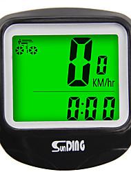 Недорогие -SunDing SD-568C Датчик модуляций скорости Водонепроницаемость Компактность Велоспорт Велосипеды для активного отдыха Односкоростной велосипед Велоспорт
