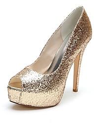 7509c0eabaa1f2 cheap -Women  039 s Synthetics Spring  amp  Summer Minimalism Wedding Shoes  Stiletto