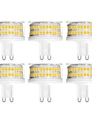 Недорогие -YWXLIGHT® 6шт 9 W Двухштырьковые LED лампы 900 lm G9 T 88 Светодиодные бусины SMD 2835 Диммируемая Тёплый белый Холодный белый Естественный белый 200-240 V