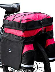 Недорогие -ROSWHEEL 60 L Сумка на багажник велосипеда / Сумка на бока багажника велосипеда Сумки на багажник велосипеда 3 В 1 Водонепроницаемость Дожденепроницаемый Велосумка/бардачок 600D Ripstop