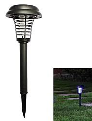 abordables -BRELONG® 1pc 5 W Luz de grama Impermeable / Solar / Decorativa Violeta 3.7 V Iluminación Exterior / Piscina / Patio 1 Cuentas LED