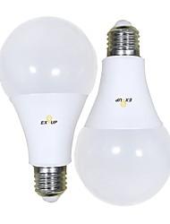 levne -EXUP® 2pcs 18 W 1650 lm B22 E26 / E27 LED kulaté žárovky A80 56 LED korálky SMD 2835 Teplá bílá Chladná bílá 220-240 V 110-130 V
