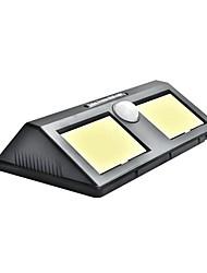 Недорогие -1шт 10 W Солнечный свет стены Водонепроницаемый / Работает от солнечной энергии / Монитор обнаружения движения Белый 5.5 V Уличное освещение / двор / Сад 2 Светодиодные бусины