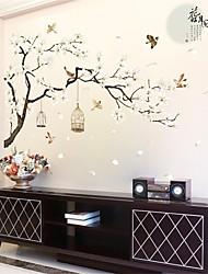 halpa -Koriste-seinätarrat - Lentokone-seinätarrat Abstrakti Makuuhuone / Työhuone / toimisto